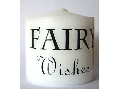 03.5cm Candle Fairy Wishes