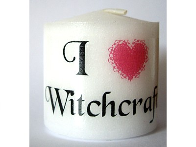 03.5cm Candle I Love Witchcraft